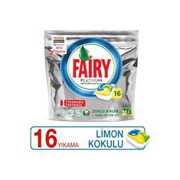 Fairy 16'lı Platinum Limon  Bulaşık Deterjanı