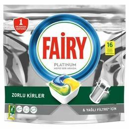 Fairy Platinum 16'lı Bulaşık Makinesi Tableti