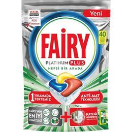 Fairy Platinum Plus 200 Yıkama Bulaşık Makinesi Deterjanı Kapsülü