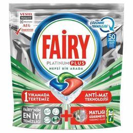 Fairy Platinum Plus 50 Yıkama Bulaşık Kapsülü