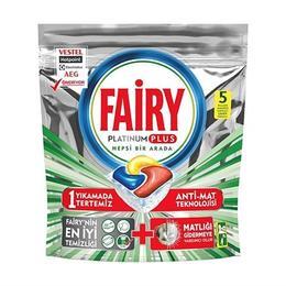 Fairy Platinum Plus Bulaşık Makinası Kapsülü 5Li