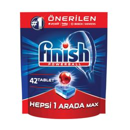 Finish Hepsi 1 Arada Max 42 Tablet Bulaşık Makinesi Tableti