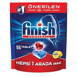 Finish Hepsi Bir Arada 55'li Tablet Bulaşık Makinesi Tableti