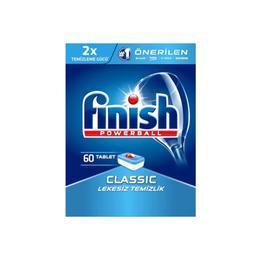 Finish Klasik 60 Tablet Kutu Bulaşık Makinesi Deterjanı