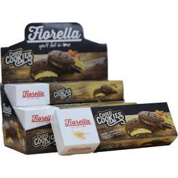 Fiorella Choco Cookies Çikolata Kaplamalı Karamelli 6x106 gr Bisküvi