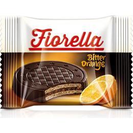Fiorella Crunch Bitter Çikolatalı Portakal Kremalı 20 gr Gofret
