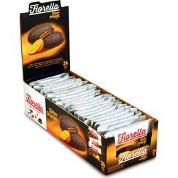 Fiorella Crunch Bitter Çikolatalı Portakal Kremalı 24x20 gr Gofret
