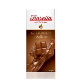 Fiorella Fındıklı Tablet 80 gr Sütlü Çikolata