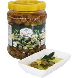 Gastroköy 1 kg Yeşil Zeytin Halhali