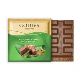 Godiva Antep Fıstık Karamel 2x60 gr Kare Çikolata
