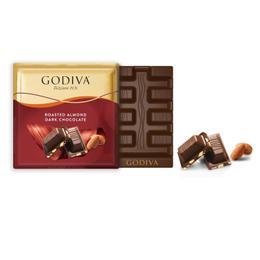 Godiva Badem Bitter Kare Çikolata 2 Adet
