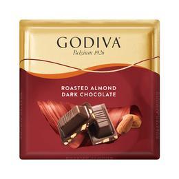 Godiva Kare Çikolata Badem Bitter 60 gr x 6 Adet