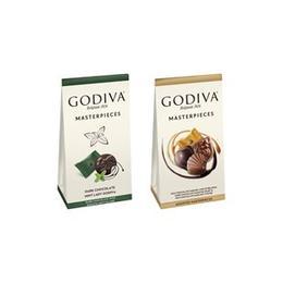 Godiva Masterpieces Karışık Çikolatalar ve Nane Bitter 115 gr x  2