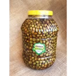 Hatay Halhal Kırma Yeşil Zeytin 5 kg