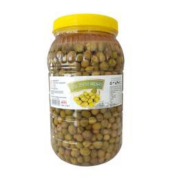 Hatay Yeşil Zeytin Halhalı Kırık 2 kg