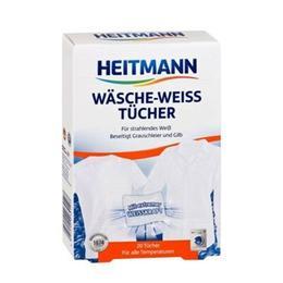 Heitmann 9 Adet Beyaz Çamaşırları Beyazlatan Mendil