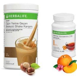 Herbalife 2 Fındık Shake 50 gr Şeftali Çay