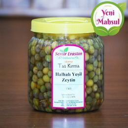 Kırma Halhalı Yeşil Zeytin 1 kg