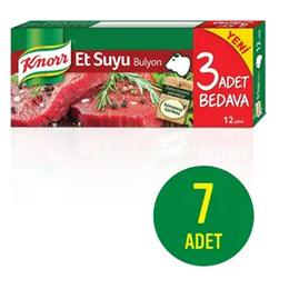 Knorr 7x12'li Et Suyu Bulyon