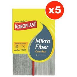 Koroplast Mikrofiber Temizlik Bezi 5'li