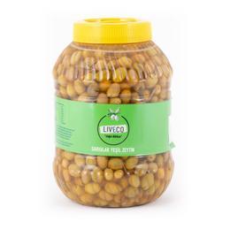 Liveco 5 kg Sarıulak Kırma Yeşil Zeytin