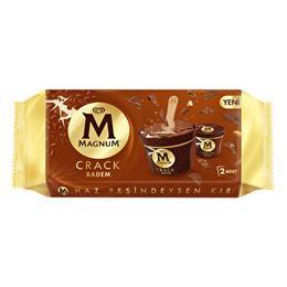 Magnum 200 ml Cup Bademli Dondurma