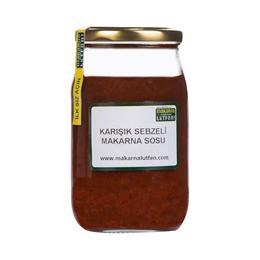 Makarna Lütfen Katkısız 330 ml Karışık Sebzeli Makarna Sosu