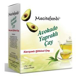 Mecitefendi 40 gr Avokado Yapraklı Bitkisel Süzen Poşet Çay