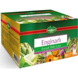 Mindivan Enginarlı Karışık Bitki Süzen 40 gr Poşet Çay