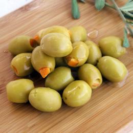 Mirliya 1 kg Portakallı Yeşil Zeytin