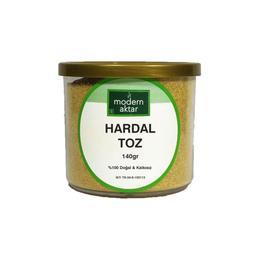 Modern Aktar Doğal Sarı Hardal Öğütülmüş  140 gr