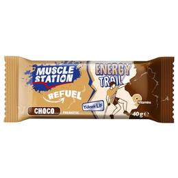 Muscle Station Energy Trail Yer Fıstıklı Bar 40 gr