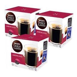 Nescafe 3 Adet Dolce Gusto Americano 16 Kapsül Kahve