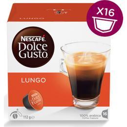 Nescafe Dolce Gusto Lungo Kapsülü 16'lı Paket
