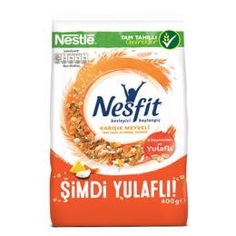 Nestle Nesfit Karışık Meyveli 400 gr Buğday ve Pirinç Gevreği