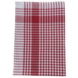 Ödel Buldan 47x67 cm Kırmızı Piti Kareli Mutfak Kurulama Bezi