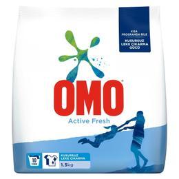 OMO Active Fresh 1.5 kg Toz Çamaşır Deterjanı