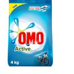 Omo Matik 4 kg Active Çamaşır Deterjanı