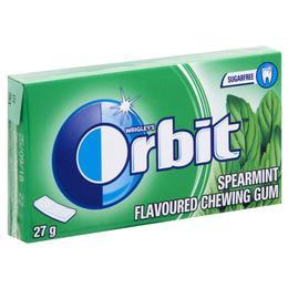 Orbit Zarf Yeşil Nane Aromalı Şekersiz Sakız 27 gr