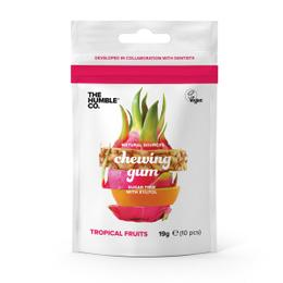 Organik Ve Şekersiz Sakız 19gr - Tropikal Meyveli