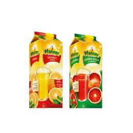 Pfanner 2 lt Kan Portakalı Meyve Suyu + 2 lt Portakal Meyve Suyu