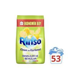 Rinso 8 kg 53 Yıkama Limon Ve Karbonat