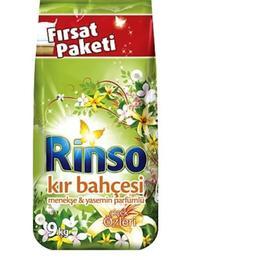 Rinso Matik Kır Bahçesi 9 kg Toz Çamaşır Deterjanı