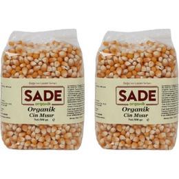 Sade Organik 2 x 500 gr Cin Mısır