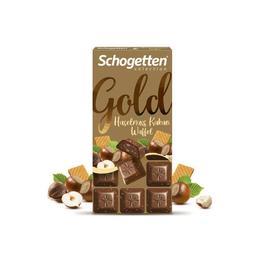 Schogetten Gold Gofret Parçalı 100 gr Çikolata