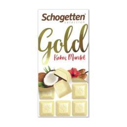 Schogetten Hindistan Cevizi Badem 100 gr Beyaz Çikolata