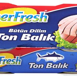 Superfresh Ton Balığı 2 x 160 gr