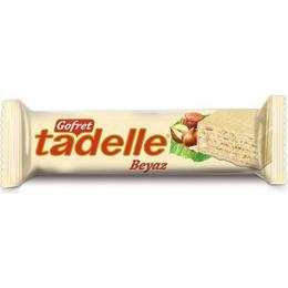 Tadelle Beyaz Çikolatalı Gofret 35 gr x 24 Ad
