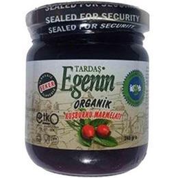 Tardaş Egenin 240 gr Organik Kuşburnu Marmelatı