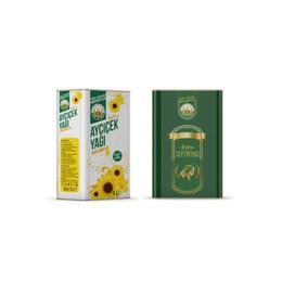 Tarım Kredi Riviera Zeytinyağı 5 lt +  Ayçiçek Yağı 5 lt